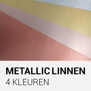 Metallic linnenkarton